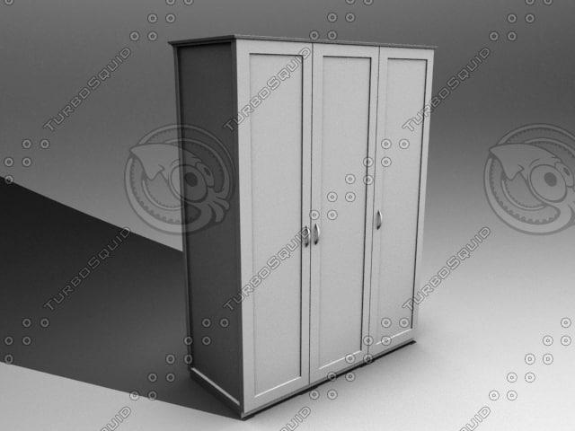 3d model of cupboard
