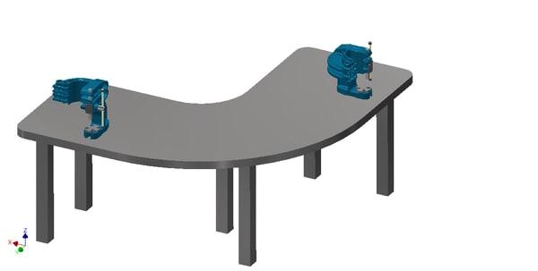 3dsmax workshop bench