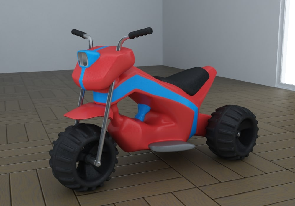 toy tricycle eco 3ds