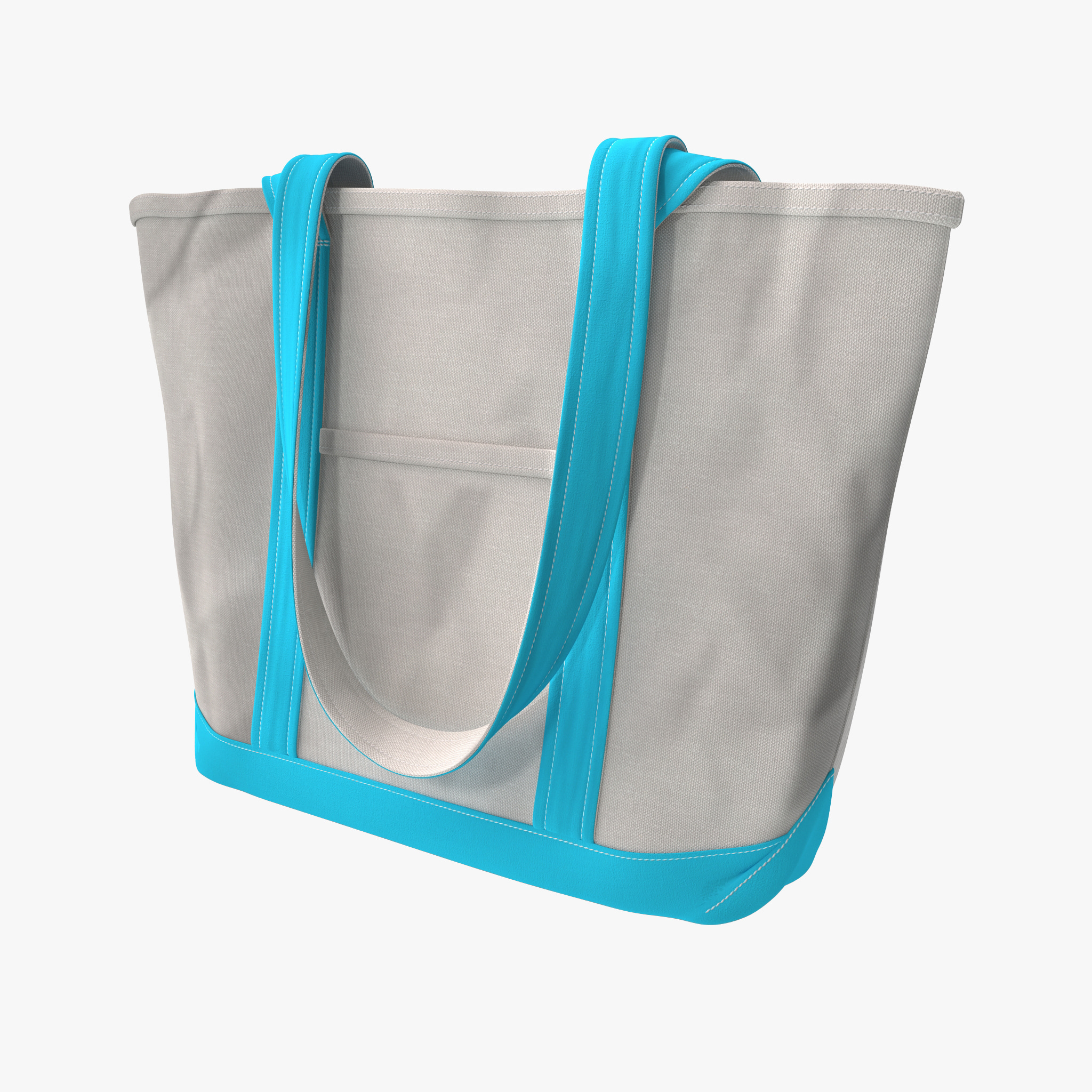 canvas tote bag 3d 3ds