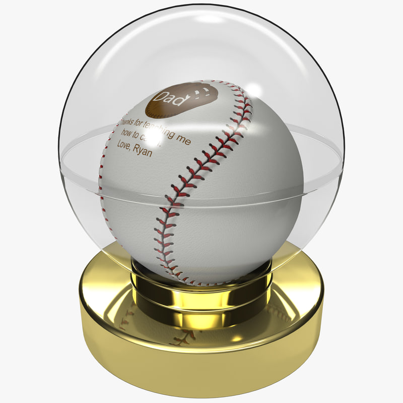 3dsmax gift dad baseball ball