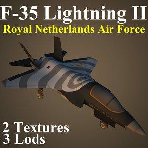 3d model of lockheed martin rnl fighter