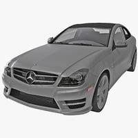 Mercedes Benz C Class Coupe 2013