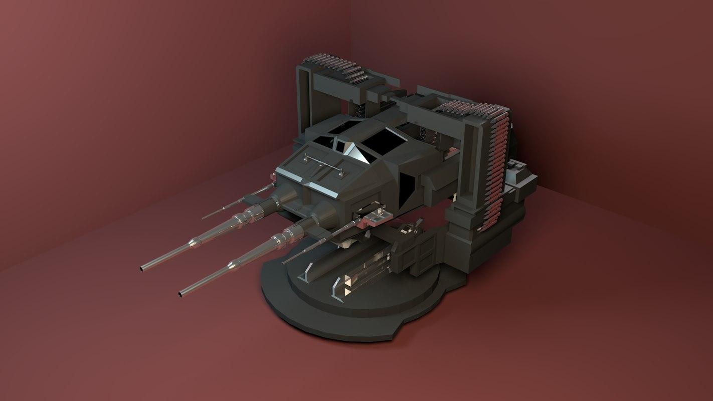 maya future turret