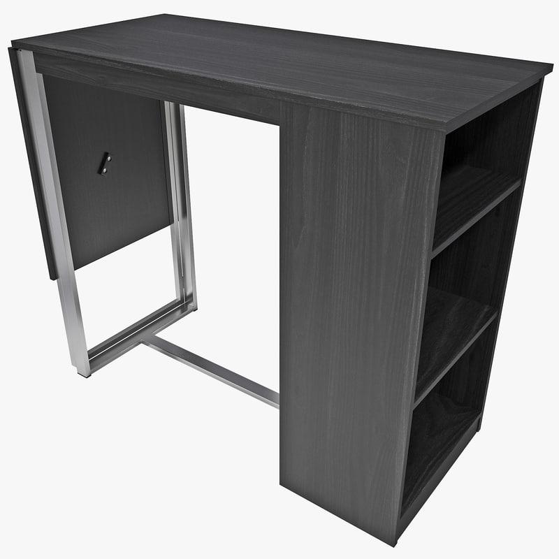 3d model standing craft desk