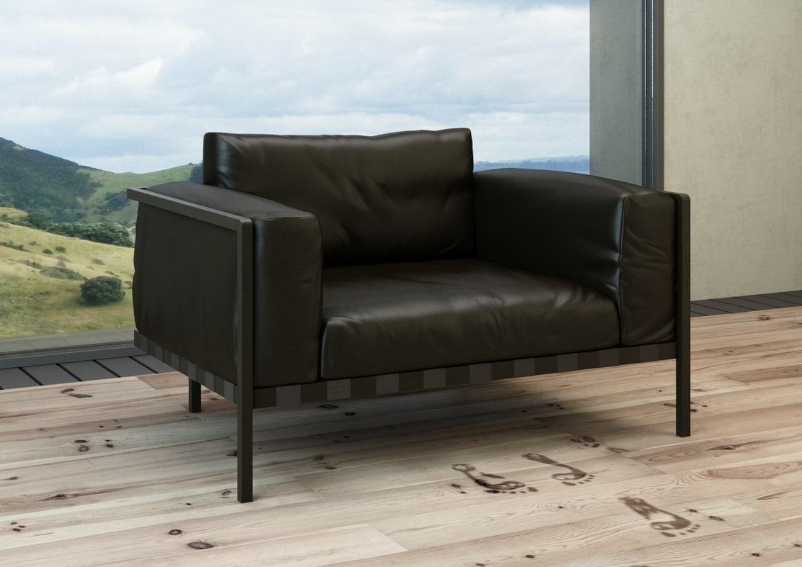 3d tribu natal alu sofa