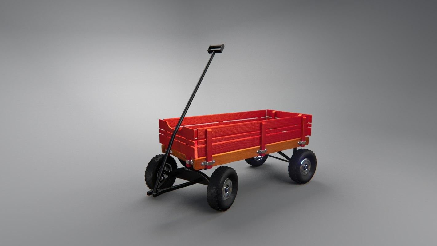3ds wagon
