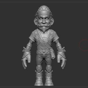 3d gnome tales model