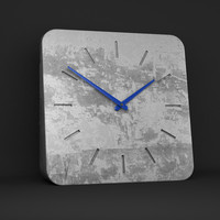 3d clock hands realistic model
