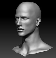 3d male sculpt