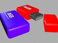pendrive pen drive 3d max