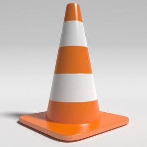 3d model cone construction
