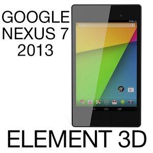3ds google nexus 7 2013