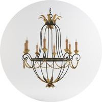 Currey & Co Elegance Chandelier