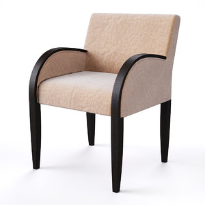 3d model armchair costa coffee