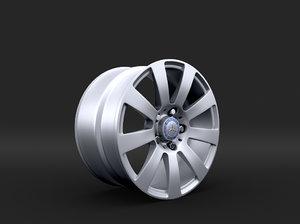 3d model rims r12 16
