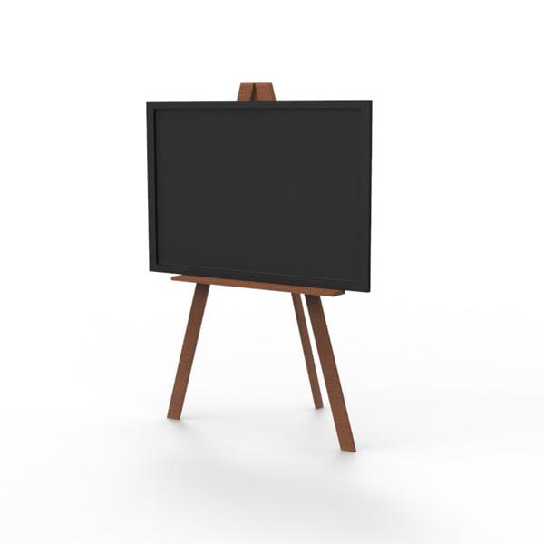 max blackboard board stand