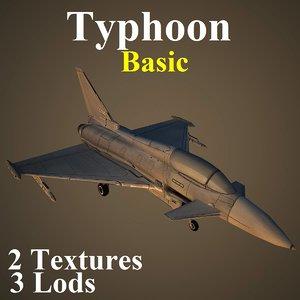eurofighter typhoon basic max
