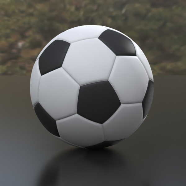 soccer ball variants 3d max