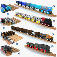 Kids Train Toy Collection 2
