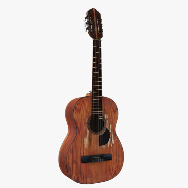 guitar string 3d model