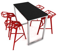 3d bar chairs hoker
