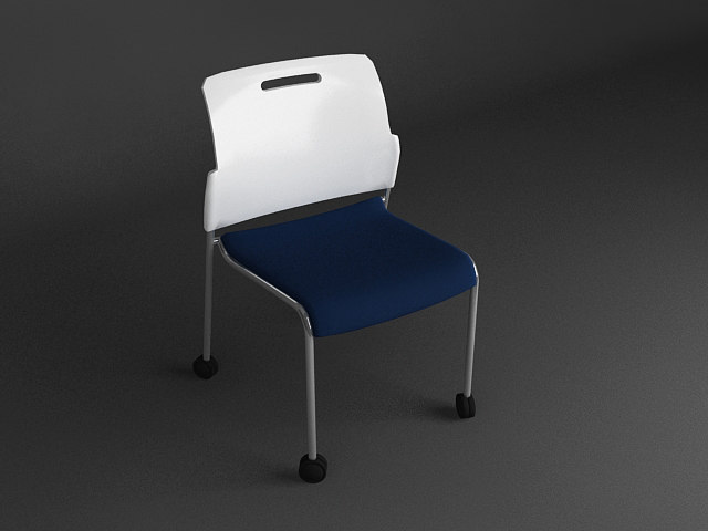 3d model uchida mf chair