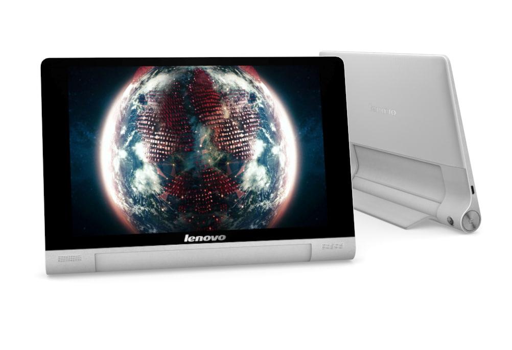 low-poly lenovo yoga tablet 3d max