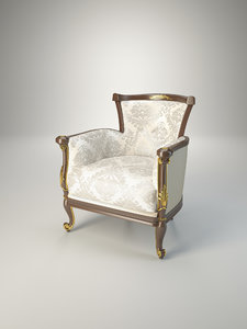 armchair volpi 3d 3ds