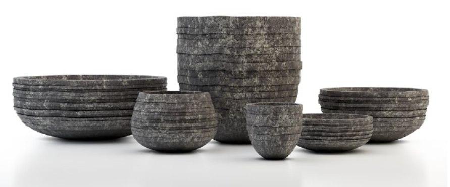 3d bowls interior model
