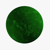 alien planet 02 3d model