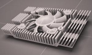 heatsink fan cooling max