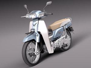 3d model honda 2013 super