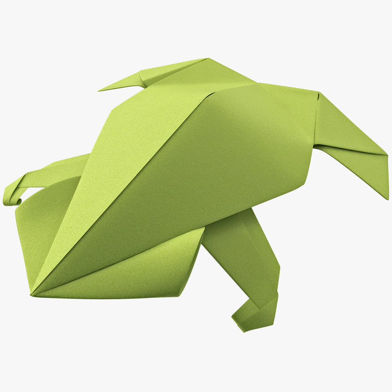 Max Origami Frog