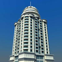 princess tower dubai 3d max