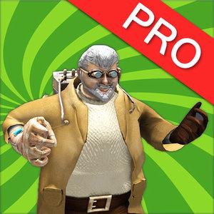 3d model professor klunksky mad