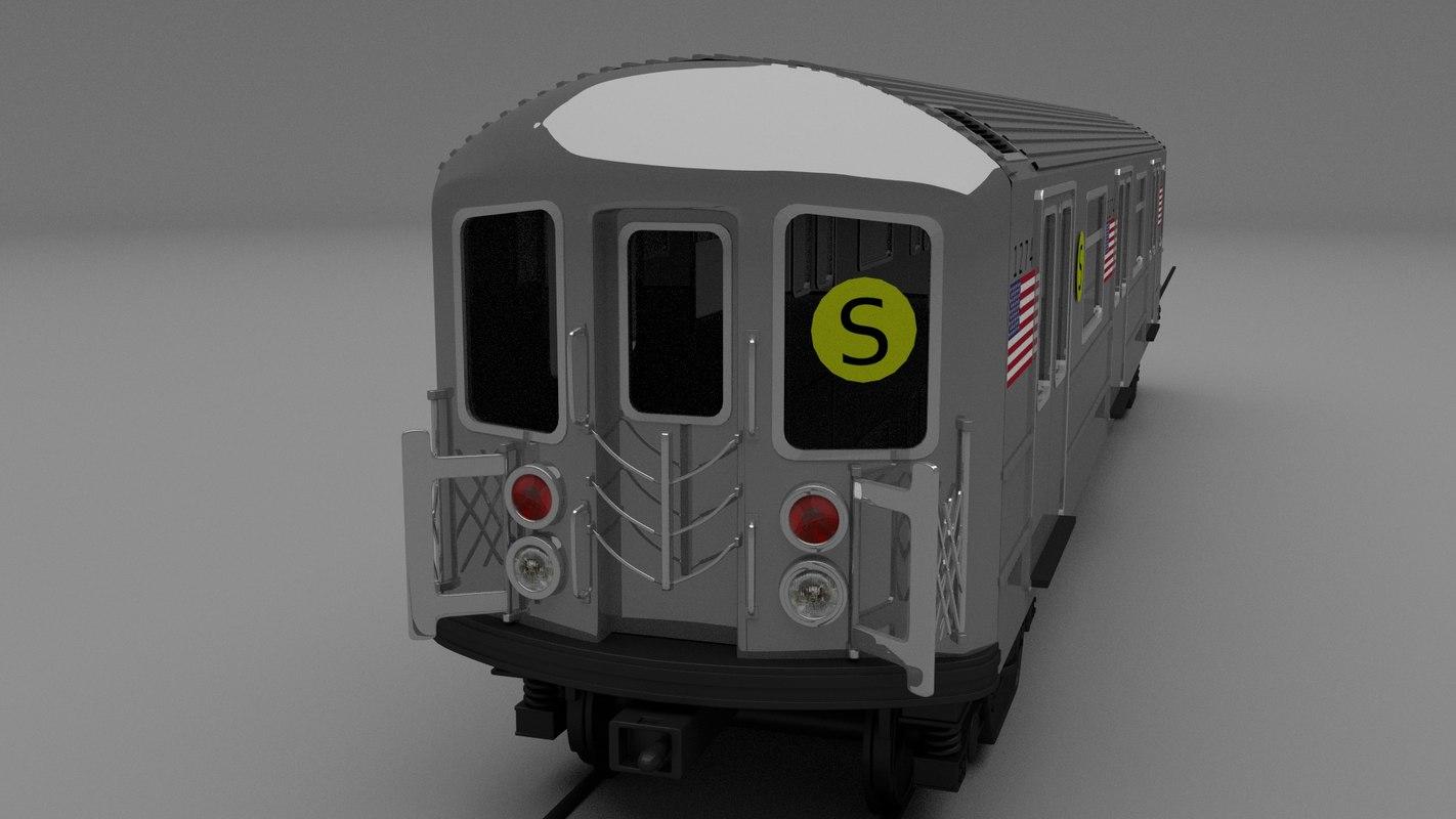 maya new york subway train