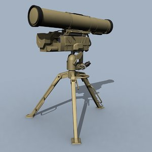 kornet guided missile atgm 3ds