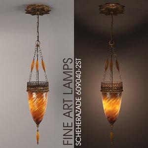 fine lamps 609040-2st 3ds