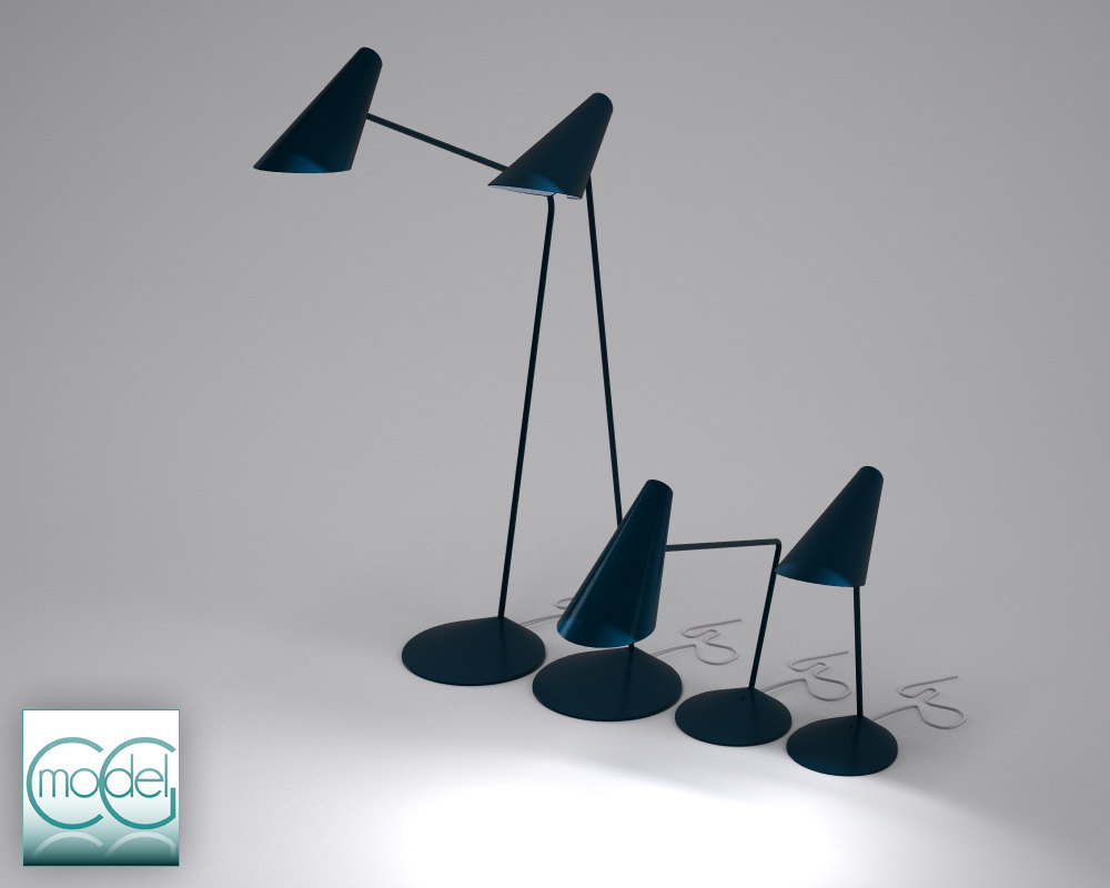 3ds max lamp vibia