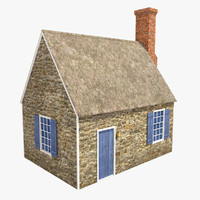free max model stone house