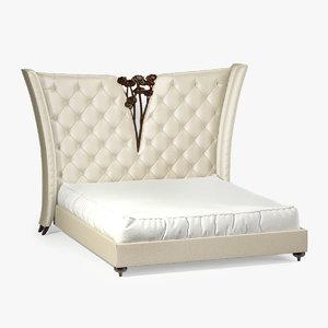 christopher bois vincennes bed 3d model