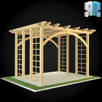 architectural modules 3d model