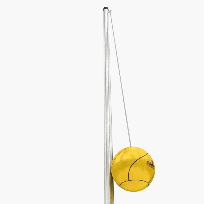 tetherbal tetherball tether 3d max