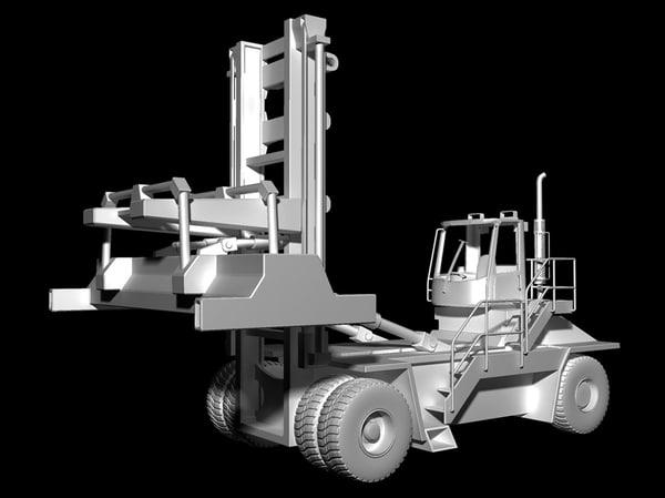 24 industrial forklift 3d 3ds