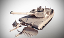 M1A1 Abrams Mine Plow 3D models