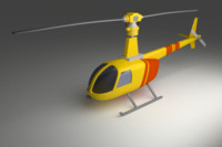 maya robinson helicopter