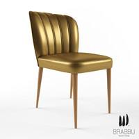 3d brabbu dalyan chair model
