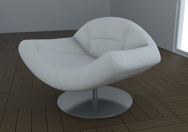 armchair fasanello 3d model