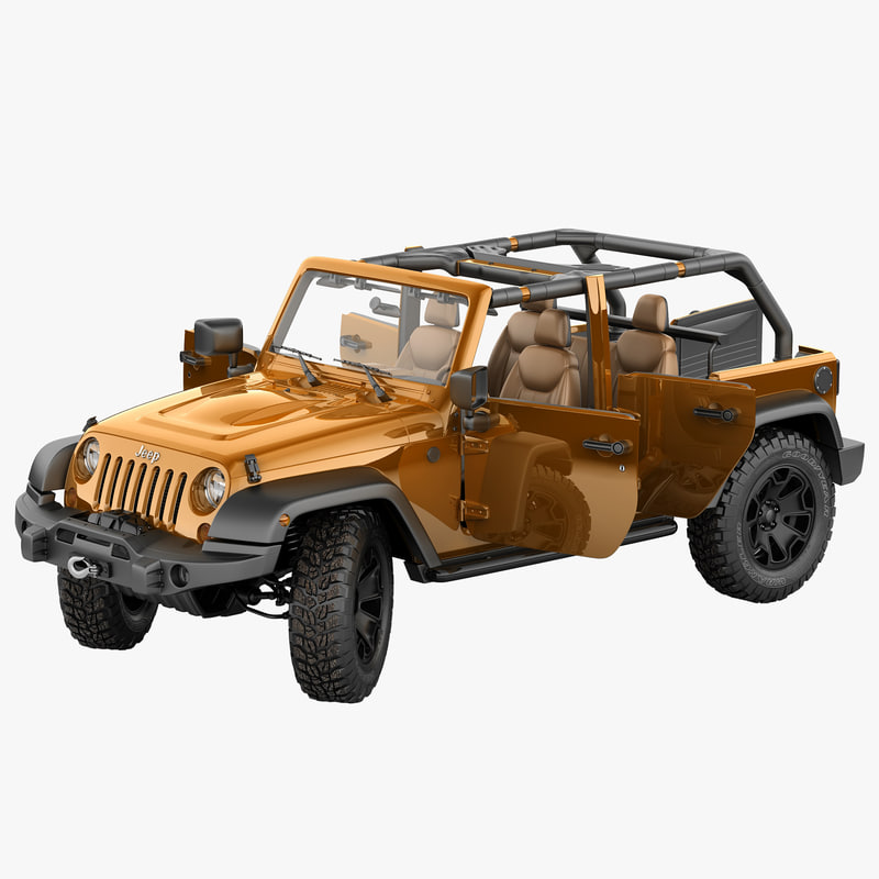 3dsmax jeep wrangler moab lite